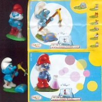 Smurf HP Kinder Surprise NV x