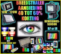 Zeer voordelige LED Breedstralers, Flood lights,