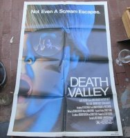 Vintage filmposter DEATH VALLEY