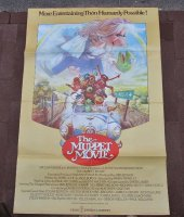 Vintage filmposter the Muppet Movie