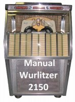 Manual boekwerk Wurlitzer 2150