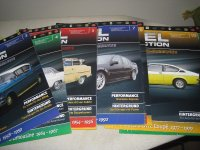 Opel collection folders magazines