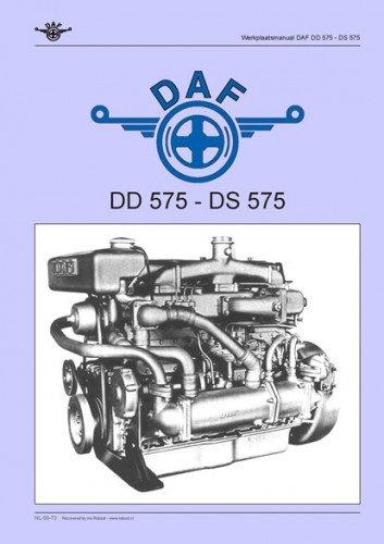 Goede Werkplaatsmanual DAF DD-DS 575 Dieselmotor te Koop Aangeboden op EJ-68