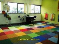 Grote magazijnverkoop tapijttegel/tapijttegels