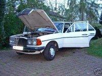 Onderdelen voor een Mercedes w115/w114 W123,