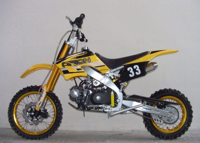 NIEUW: ORION 125cc Dirt Bike... AGB - 33! Model 2014! te ...