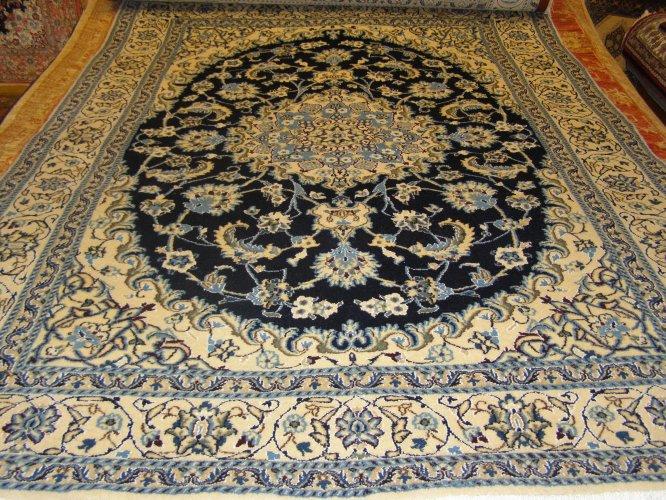Perzisch Tapijt Tweedehands : Perzische tapijt nain met zijde in uitverkoop te koop aangeboden op
