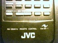 JVC afstandbediening RM-SEMX 1 U voor