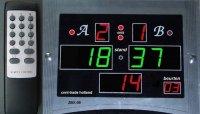 Digitaal Scorebord voor biljart met beurtenteller