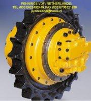 Rupsmotor,eindaandrijving voor alle mini en midigravers