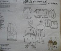 Origineel EVA patroon model 219 ABC