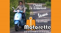 Vespa snorscooter verhuur Motorette