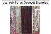 Les troix fréres Deveydt Bruxelles knopaccordeon'