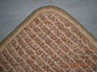 Festonneren tapijt