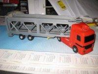 Vrachtwagen voor autotranssport