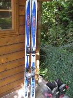 Set ski\'s + stokken + schoenen
