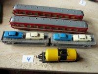 LIMA(?)verschillende treinwagons- 4