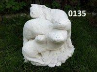 De drie otters. ( 0135 )