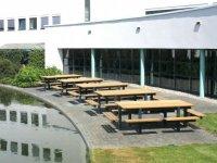 Exclusieve picknicktafel tuinmeubelen en tuinbank