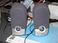 Set geluidspeakers