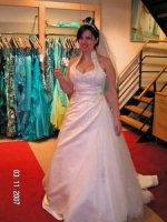 Hele mooie nieuwe trouwjurk