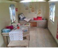 Aangeboden: Pipowagen zigeunerwagen buitenspeelgoed woonwagen Tiny houses n.o.t.k.