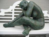 Bronzen tuinbeelden