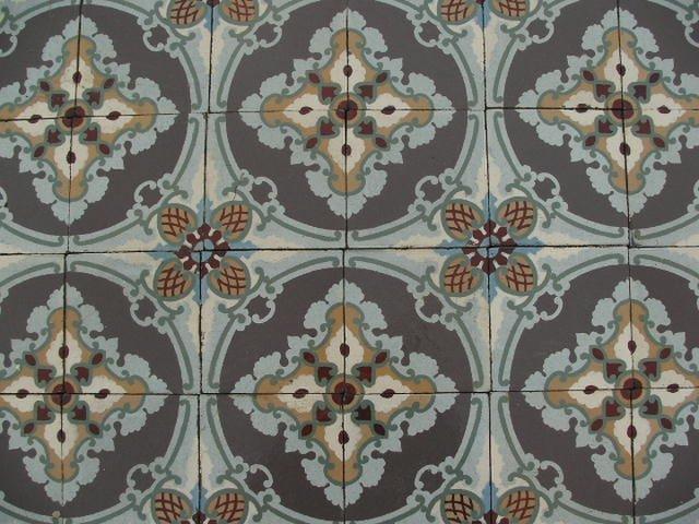 Oude antieke tegels vloertegels cementtegels vloer g te koop