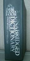 RANDOM HOUSE unabridged dictionary - second