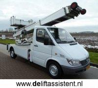 Verhuislift te huur liftwagen verhuur ladderlift