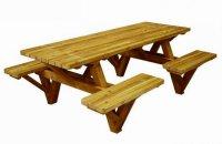 Senioren picknicktafel