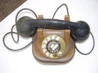 Bronsen telefoontoestel