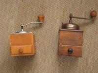 Twee koffiemolens