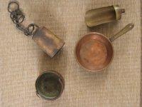Diverse koperen voorwerpen