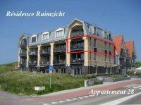 Domburg, recreatie appartement aan de golfbaan