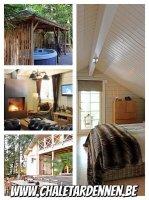 Nieuw  luxe chalet met sauna
