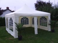 Partytent -Pagodetent 4x4m nieuwe sfeervolle pagodetent