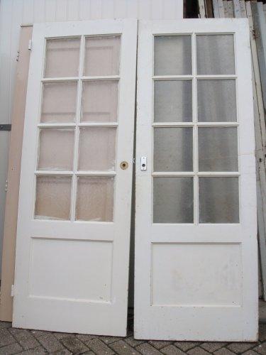 Deuren Te Koop.Oude Paneeldeur Met Ruitjes Meerdere Stuks Te Koop Aangeboden Op