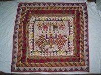Rajasthan textiel, met heel veel