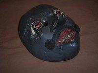 Vintage Topeng masker nummer 10