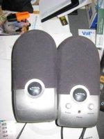 Aangeboden: NGS speakerset € 15,-