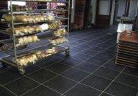 PVC vloeistofdichte vloeren voor voedselverwerkers antislip