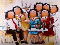 Dikke Dames schilderijen van Theo Broeren