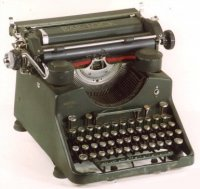 Type Writer, 1910, Bar-Lock, 102 jr.oud=