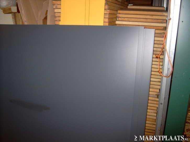 hpl platen merk trespa ral 7016 antracietgrijs div afm te koop aangeboden op. Black Bedroom Furniture Sets. Home Design Ideas