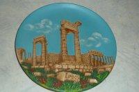 Wandbord Lindos Rhodos Griekenland