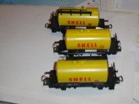 Shell en esso wagonnetjes
