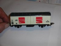Coca cola goederenwagon