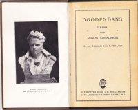 August Strindberg Doodendans 1919