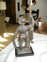 Bronzen krijgsman